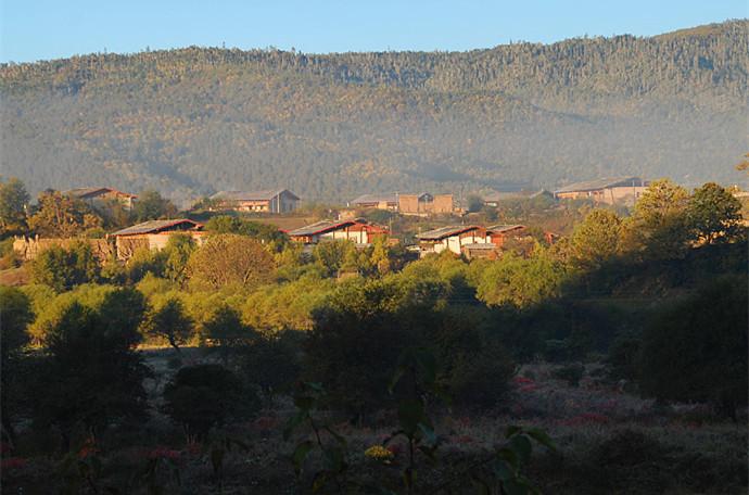 Durigu Village in Shangri-la, Diqing