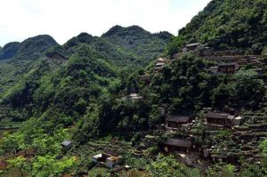 Fengyandong Cave in Guangnan County, Wenshan