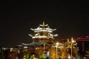 Gaogu Tower in Hongta District, Yuxi