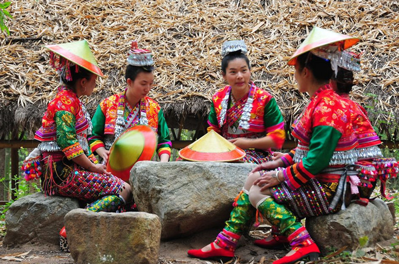 Gasa Town in Xinping County, Yuxi