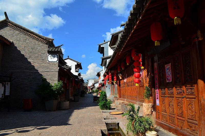 Guanglu Ancient Town in Yaoan County, Chuxiong