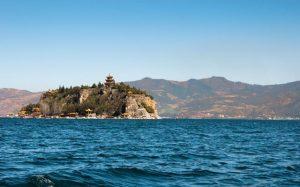 Gudao Island of Fuxian Lake, Yuxi