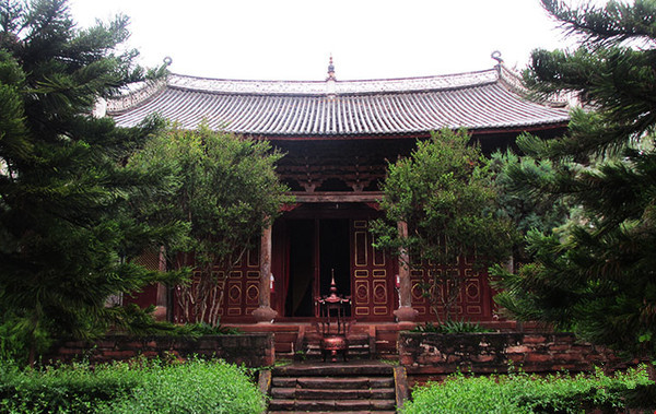 Heijing Confucius Temple in Lufeng County, Chuxiong