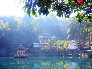 Heshun Dragon Pool in Tengchong County, Baoshan