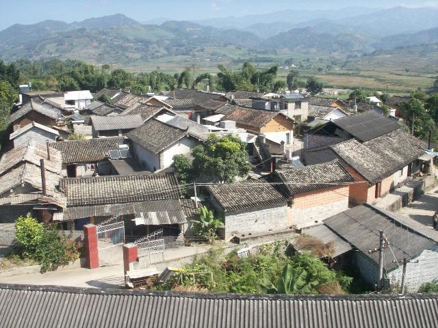 Hudong Vilalge Tea Plantation in Shuangjiang County, Lincang