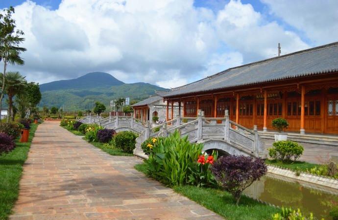 Jibian Alpine Oolong Tea Plantation in Tengchong County, Baoshan