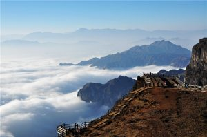 Jigong Mountain of Dashanbao Nature Reserve, Zhaotong