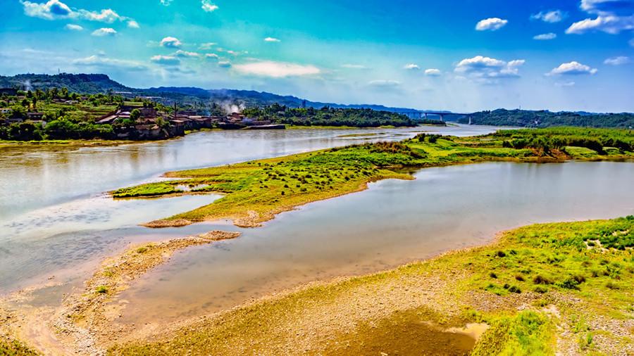 Jinsha River in Suijiang County, Zhaotong