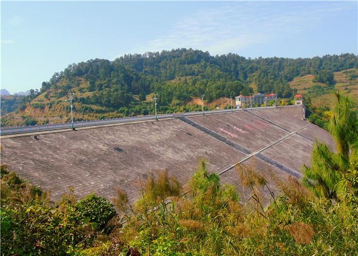 Junlonghu Lake in Wenshan City