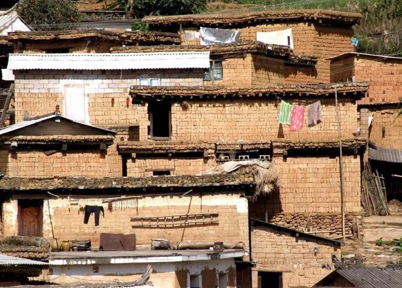 Kuineng Hani Ethnic Village in Mojiang County, Puer