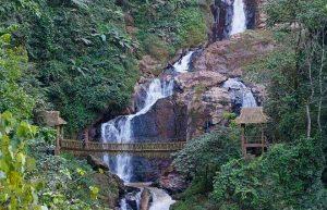 Likan Waterfall in Ximeng County, Puer
