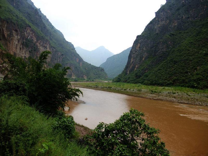 Luzhijiang River in Yuxi and Chuxiong