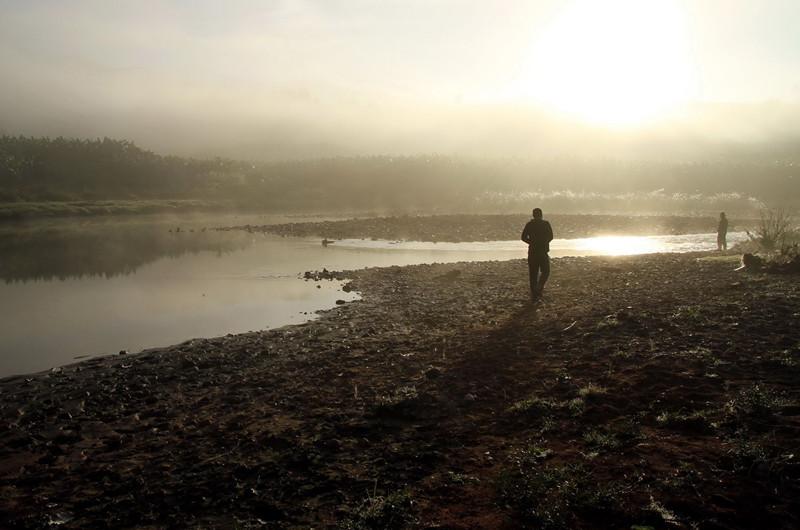 Manlaojiang River in Puer
