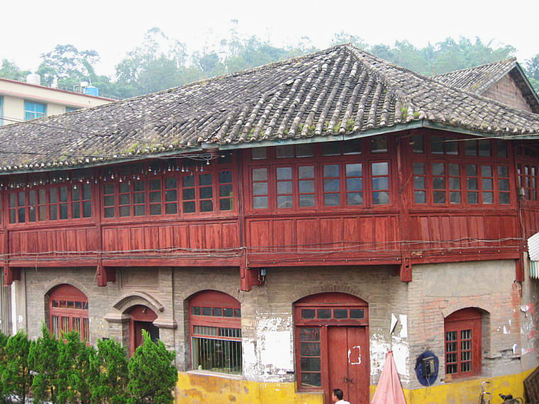 Mohei Old Town in Ninger County, Pu'er