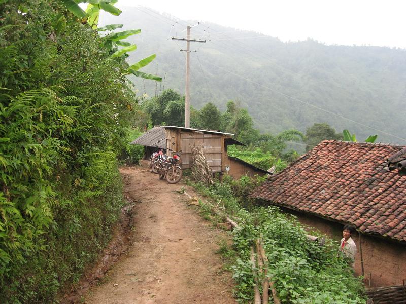 Naha Hani Earthen Houses in Mojiang County, Puer