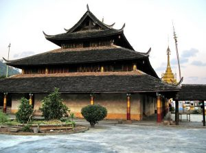 Nayun Ancient Town in Menglian County, Puer