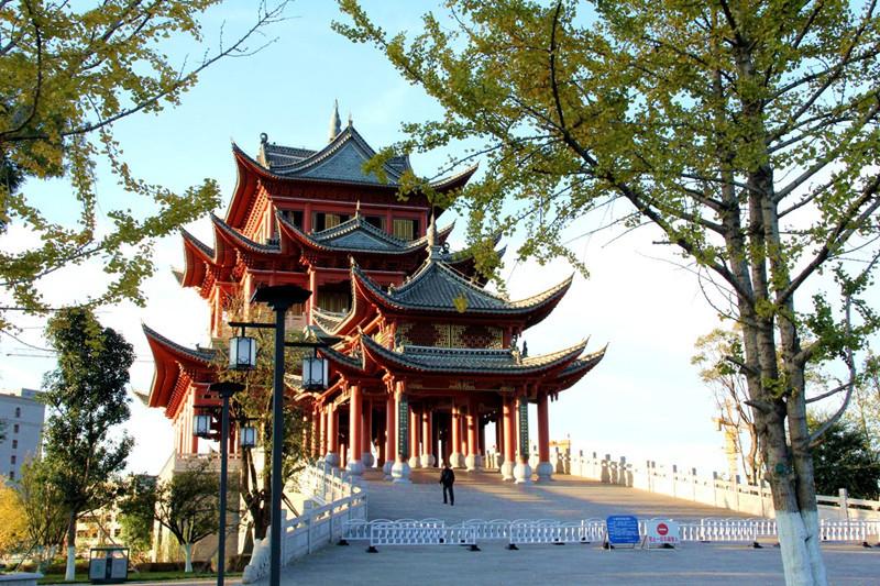 Nie Er Cultural Square, Yuxi