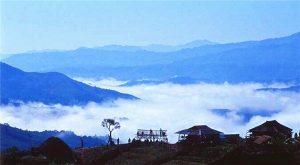 Qianjiazhai Scenic Area in Zhenyuan County, Puer