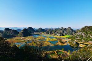 Qinglong Mountain in Puzhehei, Wenshan