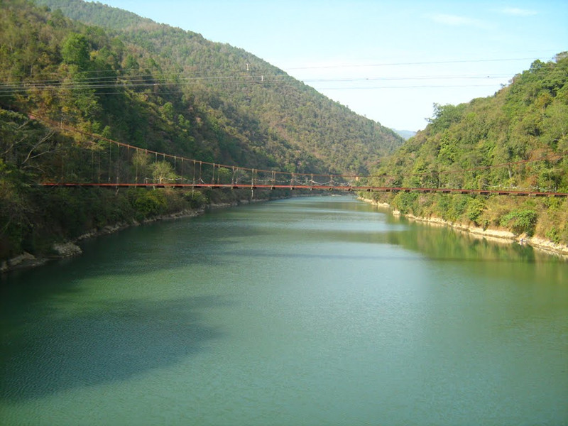 Ruilijiang River in Baoshan and Dehong