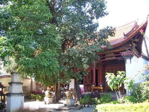 Shengjiao Temple in Yunxian County, Lincang