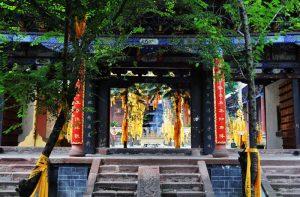Shiyang Confucius Temple in Dayao County, Chuxiong