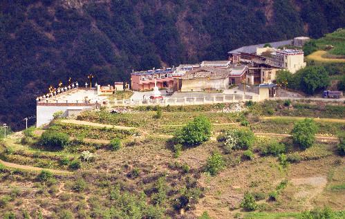 Shusong Nunnery in Deqin County, Diqing