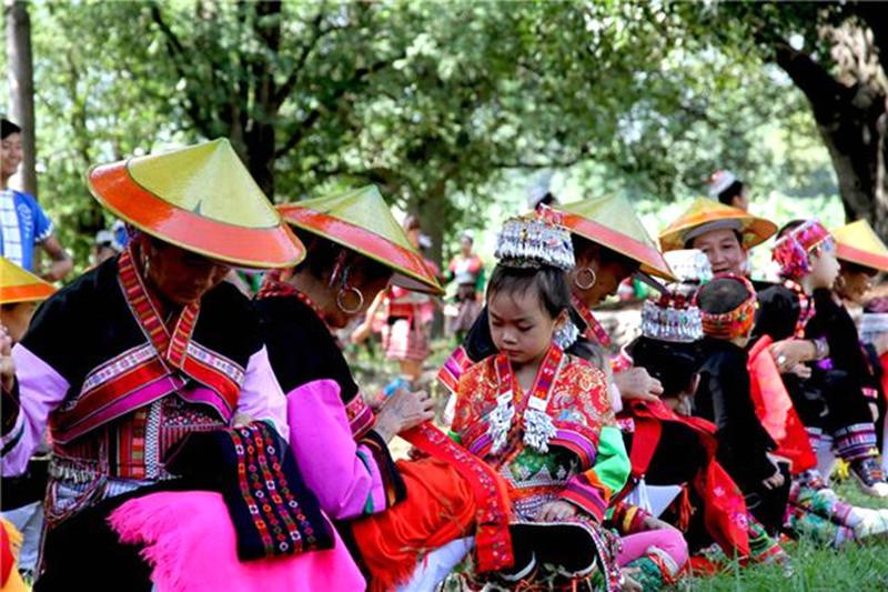 The Bathing Festival of Huayaodai Ethnic