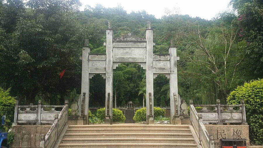 Tomb of Dao Anren in Yingjiang County, Dehong