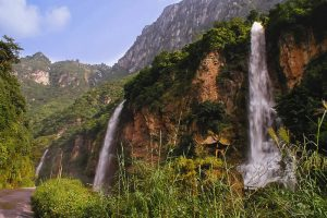 Huanglianhe River Scenic Area in Daguan County, Zhaotong
