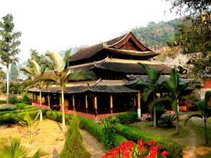 Xuanfu Chieftain House in Menglian County, Puer
