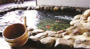 Yingyuetan Hot Spring in Hongta