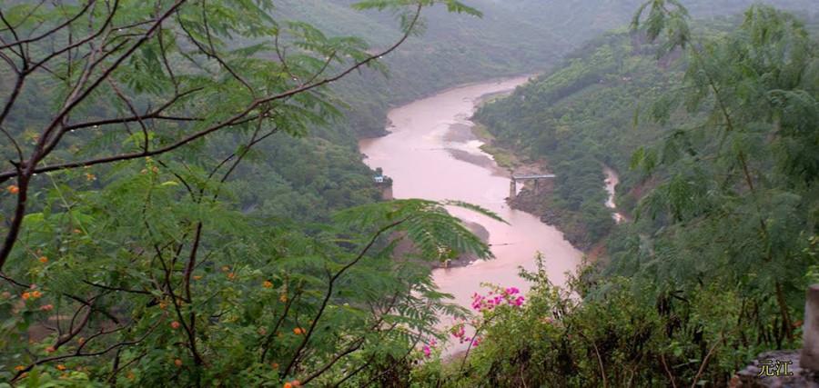 Yuanjiang River in Yuxi and Honghe