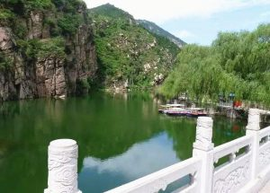 Yulong Pond and Black Dragon Pool in Fengqing County, Lincang