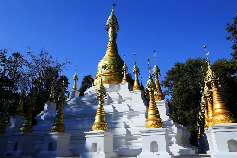 Yunyan Stupa in Yingjiang County, Dehong