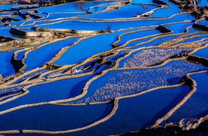 Aichun Village and Aichun Hani Rice Terraces in Yuanyang County, Honghe