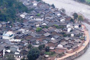 Baofeng Old Town in Yunlong County, Dali
