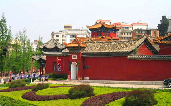 Baohua Park in Gejiu City, Honghe