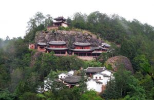 Baoxiang Hanging Temple in Jianchuan County, Dali