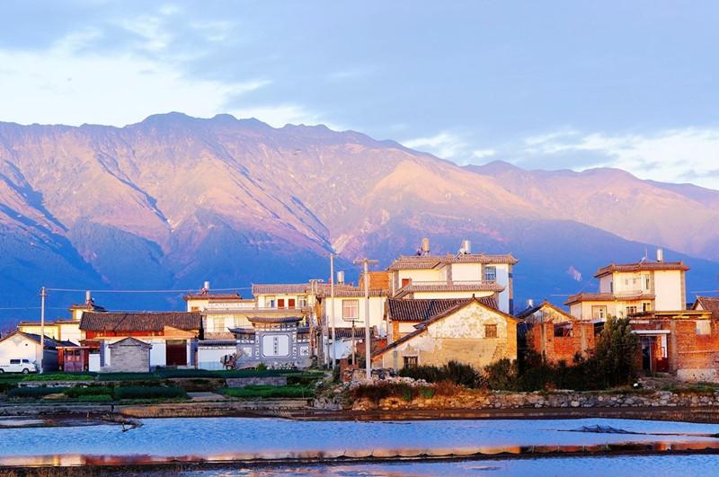 Caicun Village in Dali City