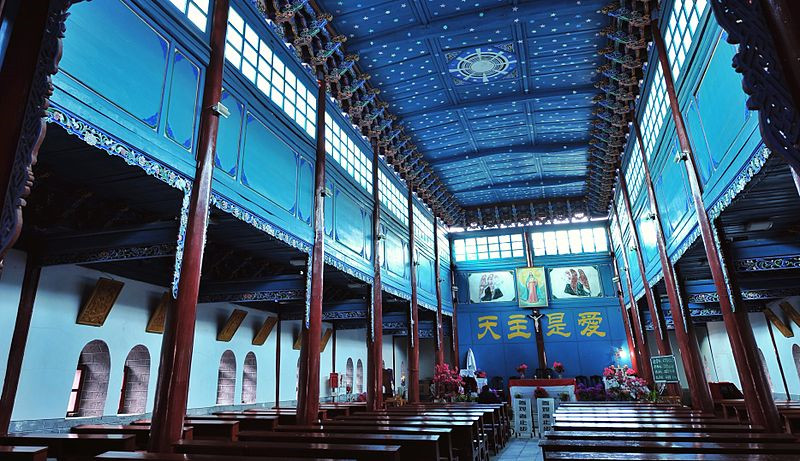 Catholic Church of Dali Old Town in Dali City-06