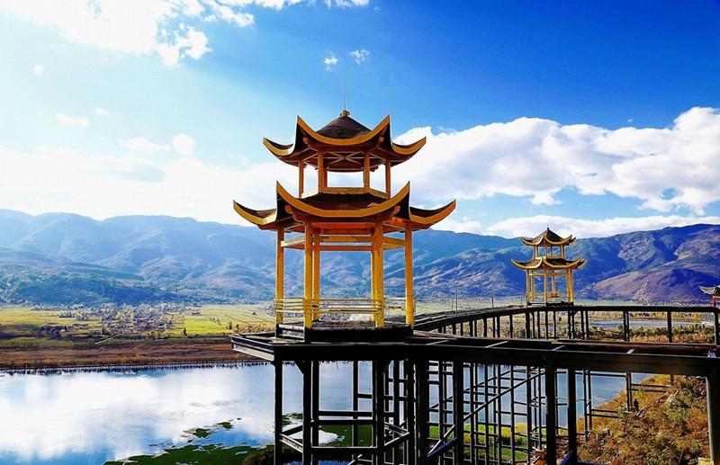 Cibi Lake in Eryuan County, Dali