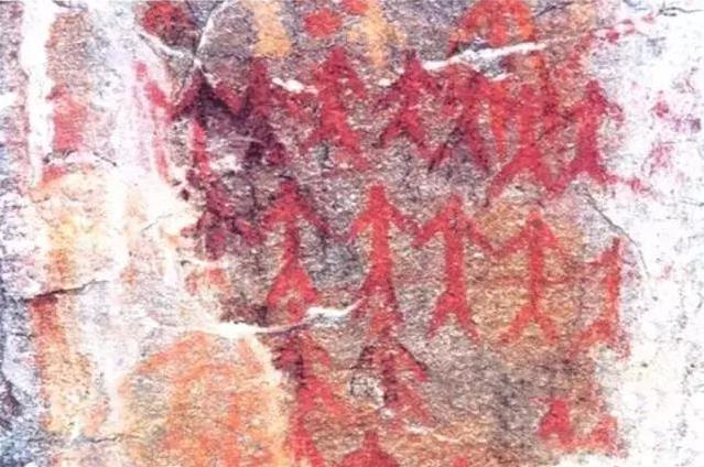 Cliff Paiting of Cangshan Mountain in Yangbi County, Dali-03