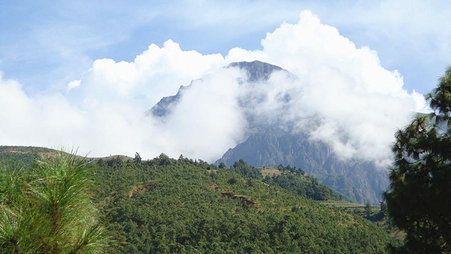 Dagu Niuzhai Mountain in Dongchuan District, Kunming