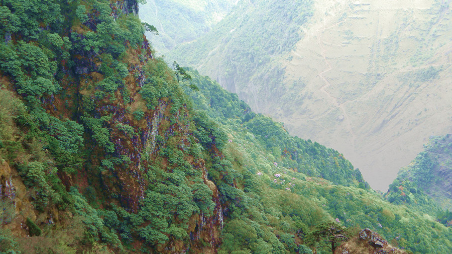 Dagu Niuzhai Mountain in Dongchuan District, Kunming-05