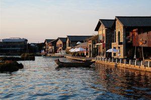 Daoyipang Fishing Village of Shuanglang Town in Dali City