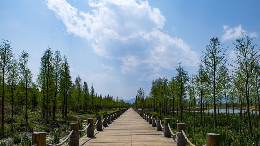 Dongdahe Wetland Park in Jinning District, Kunming-02