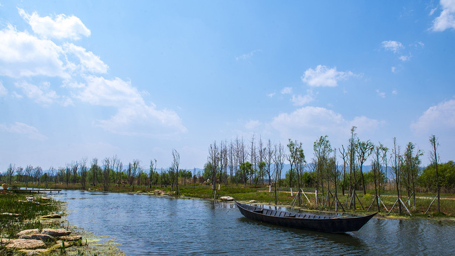 Dongdahe Wetland Park in Jinning District, Kunming-04