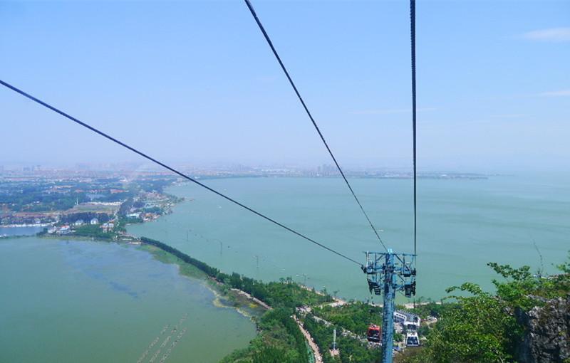Dragon Gate Cableway of Western Hills in Kunming-02