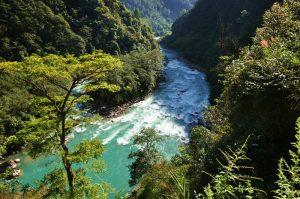 Dulongjiang River in Nujiang